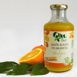 100% succo di arancia biologico